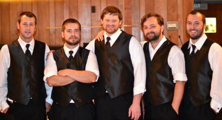 The Joys of my life Left to right -My nephew Andy, my first born Matt, my nephew Blake, my middle son Aaron and my baby boy Spencer