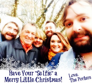 Christmas Card Selfie 2014